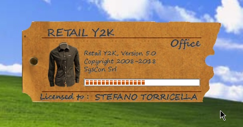 Retail Y2K Office 5.0 - Splash Screen